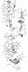 Proteam Proforce 1500xp Upright Vacuum Parts List