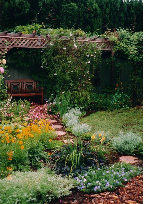 Backyard Flower Garden Design by Kathy S Landscaping Design Installation Consultation