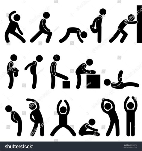 man people athletic exercise stretching warm  sign