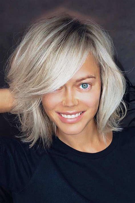latest short hair trends  winter   long