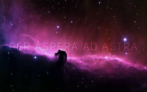 aspera ad astra wallpapers