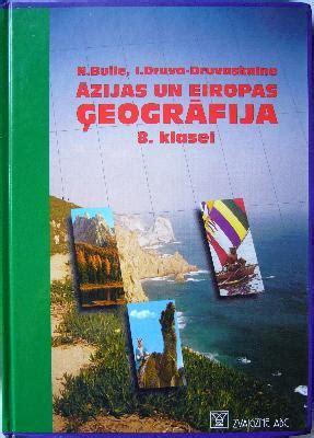 Āzijas un Eiropas ģeogrāfija 8. klasei - Natālija Buile ...
