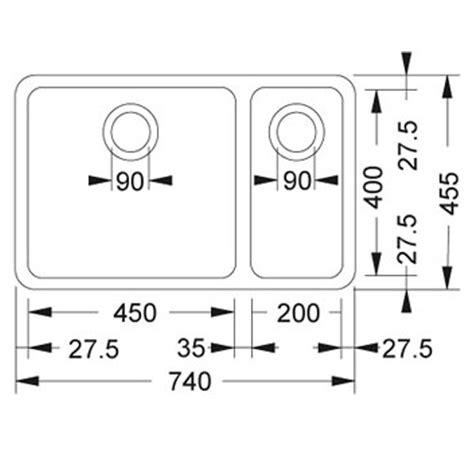 franke kubus kbx    stainless steel sink