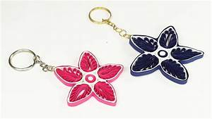 Paper Quilling – How to Make Key chain from Quilling Art