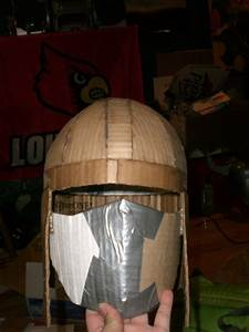Shredder Helmet part 2 by KillaTofu13 on DeviantArt