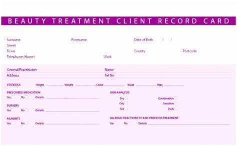 client record card beauty template free makeup consultation form mugeek vidalondon