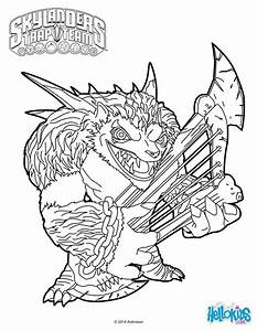Skylanders Trap Team coloring pages - Wolfgang   Coloriage ...