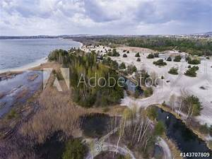 U0026quot Lake And Forest During Spring Time  View From Above Dabrowa Gornicza  Poland  U0026quot  Stock Photo And