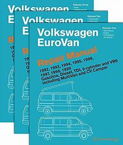 Download Free Volkswagen Eurovan Repair Manual  1992 1993