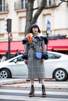street style   paris fashion week spring  fashionista
