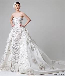 rani zakhem spring 2014 wedding dresses wedding inspirasi With over skirt wedding dress