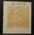 Wisconsin Racine County Map Norway Township c.1930s J18#96 ...