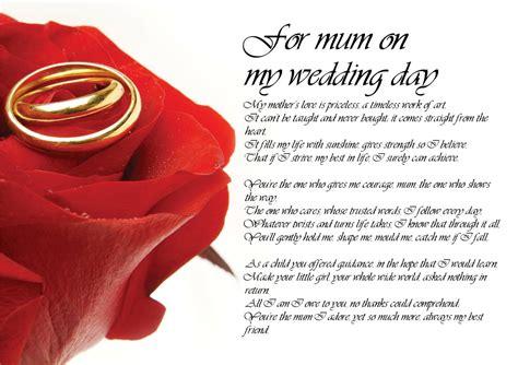 poem  mom  daughter  wedding day  large images