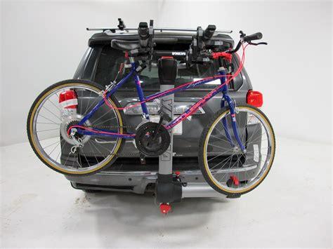 yakima 4 bike rack yakima swingdaddy 4 bike rack 2 quot hitches swinging