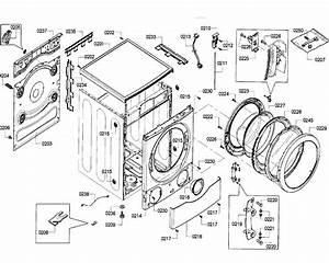 Bosch Model Wfvc6450uc  24 Residential Washers Genuine Parts