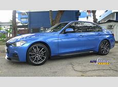 BMW F30 M Sport equipped with BMW M Performance