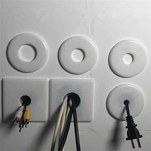 Air Conditioning Hole Decorative Cover White Plastic Wall