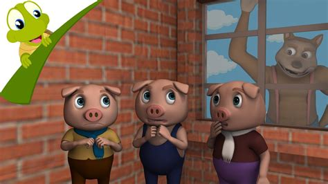 Three Little Pigs and the Big Bad Wolf 3D story and songs ...