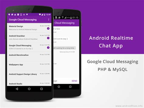 android messaging app android building realtime chat app using gcm php mysql