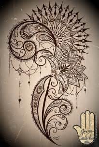 ideas  mandala tattoo  pinterest lotus