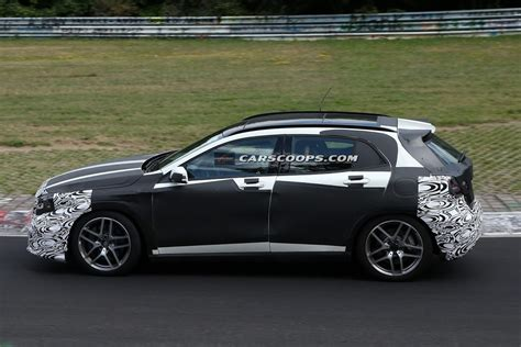 Commands respect wherever it roams. Spied: New Mercedes GLA 45 AMG Blurs the Line Between Hot ...
