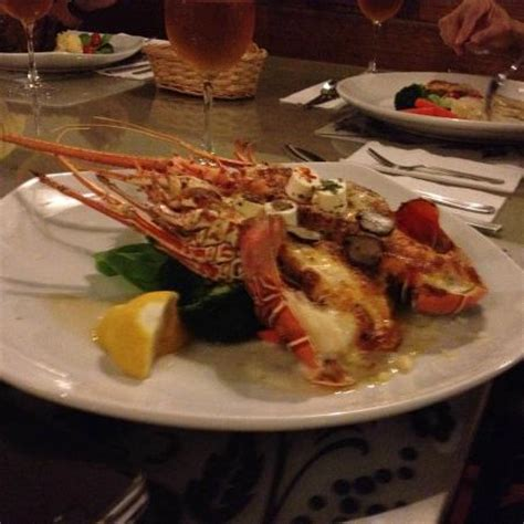 Cheese Baked Bamboo Lobster  Picture Of Volcano Grill