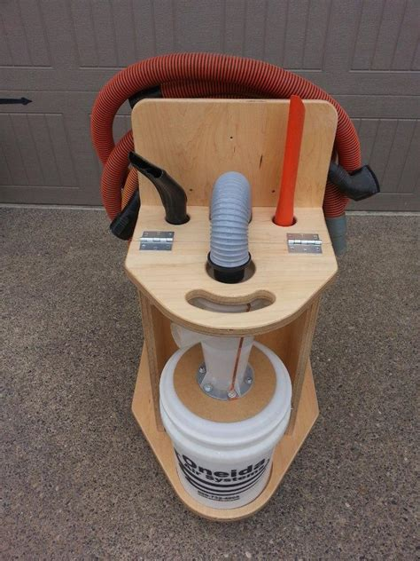 convert  shop vac   cyclone dust collector