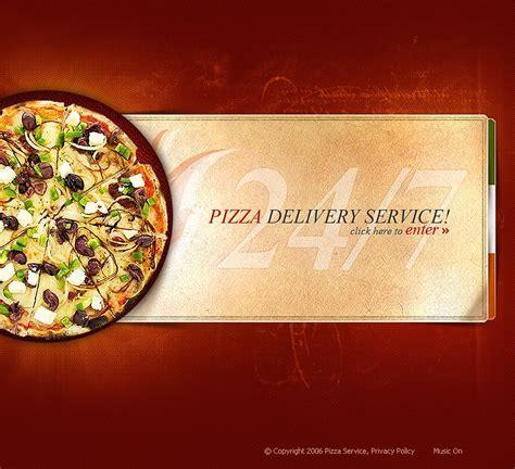 pizza template pizza flash template 11059