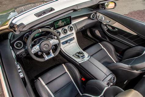 Inside, the c 63 s's interior can be fancied up with optional authentic carbon fiber trim and amg performance seats. 2020 Mercedes-AMG C63 Cabriolet Interior Photos | CarBuzz