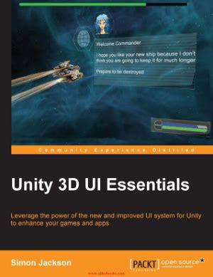 unity  ui essentials book   books