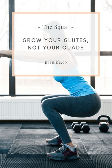 glutes quads grow butt deadlift kettlebell workout without bodybuilding growing squat quad squats exercises preplife workouts