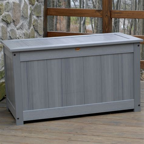 patio storage box large deck storage box in deck boxes