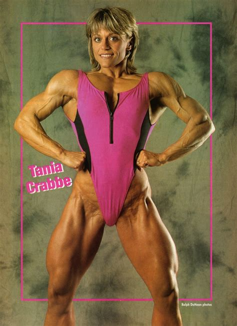 tania crabbe  beauty muscle