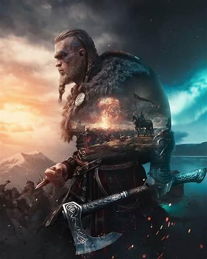 Creed Valhalla Assassin Viking Artstation Resolution Wallpapers