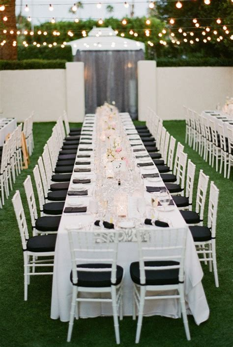 table charts for wedding reception outdoor wedding long tables archives weddings romantique