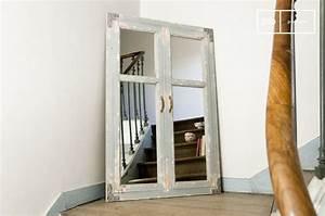 Miroir Effet Verrière : miroir industriel le style verri re d 39 atelier ~ Teatrodelosmanantiales.com Idées de Décoration