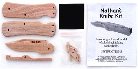 nathans wooden knife kit review  gadgeteer