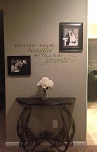Master bedroom wall decor wording is from uppercase