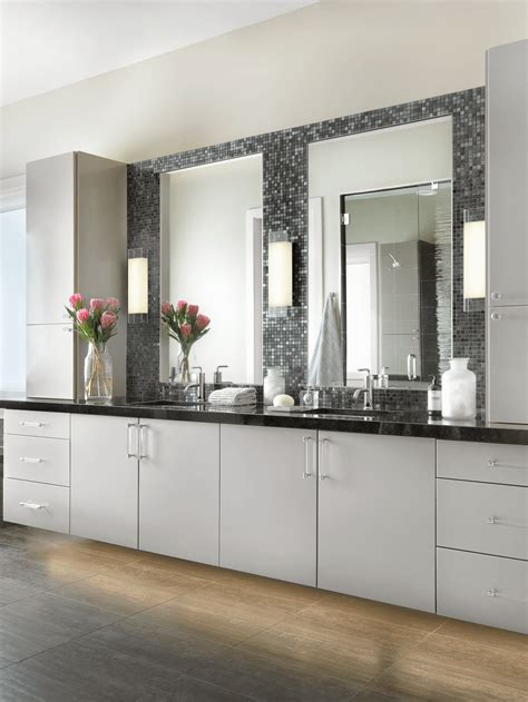 contemporary master bathroom beckallen cabinetry