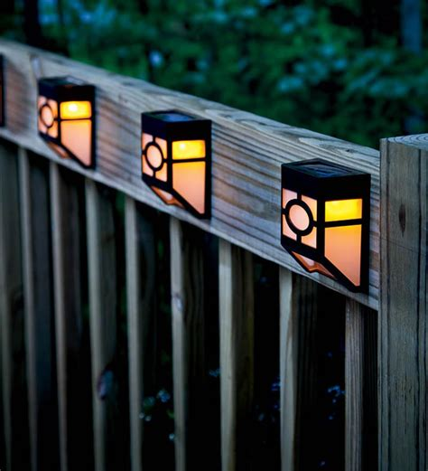 quace solar garden led light box wall light by quace
