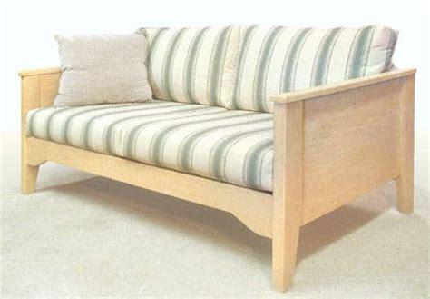 Wood Frame Loveseat by Scandinavian Sofas Loveseats Southwestern Mission