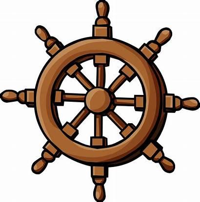 Wheel Ship Clipart Captain Clip Timon Imagenes