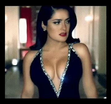 salma hayek sexy gif find  gifer