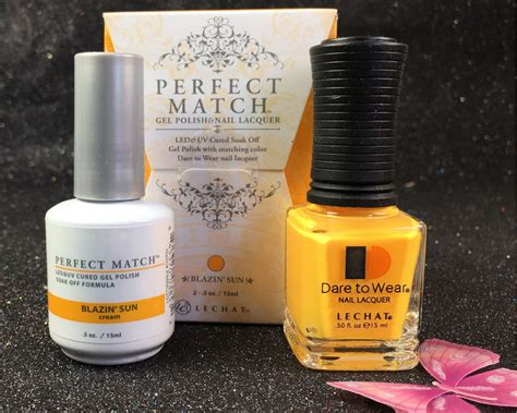 lechat blazin sun perfect match gel polish nail lacquer