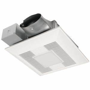 panasonic whispervalue dc exhaust fan led light and night With panasonic bathroom fans home depot