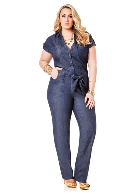 jumpsuits and rompers plus size jean jumpsuit dressed up