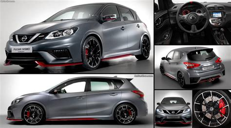 nissan pulsar nismo concept  pictures information