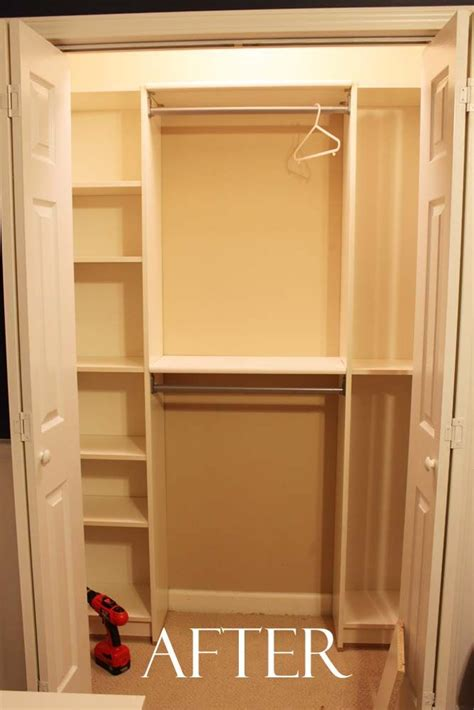 Diy Closet System Plans by Diy Custom Closet Organizer Woodworking Projects Plans