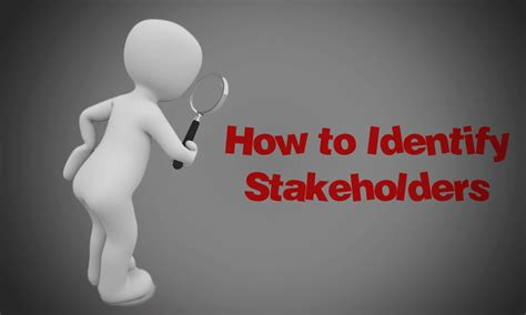 How To Identify Project Stakeholders?