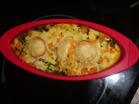 recette cuisine baeckoff flan epinard cabillaud et chevre de sagweste la cuisine